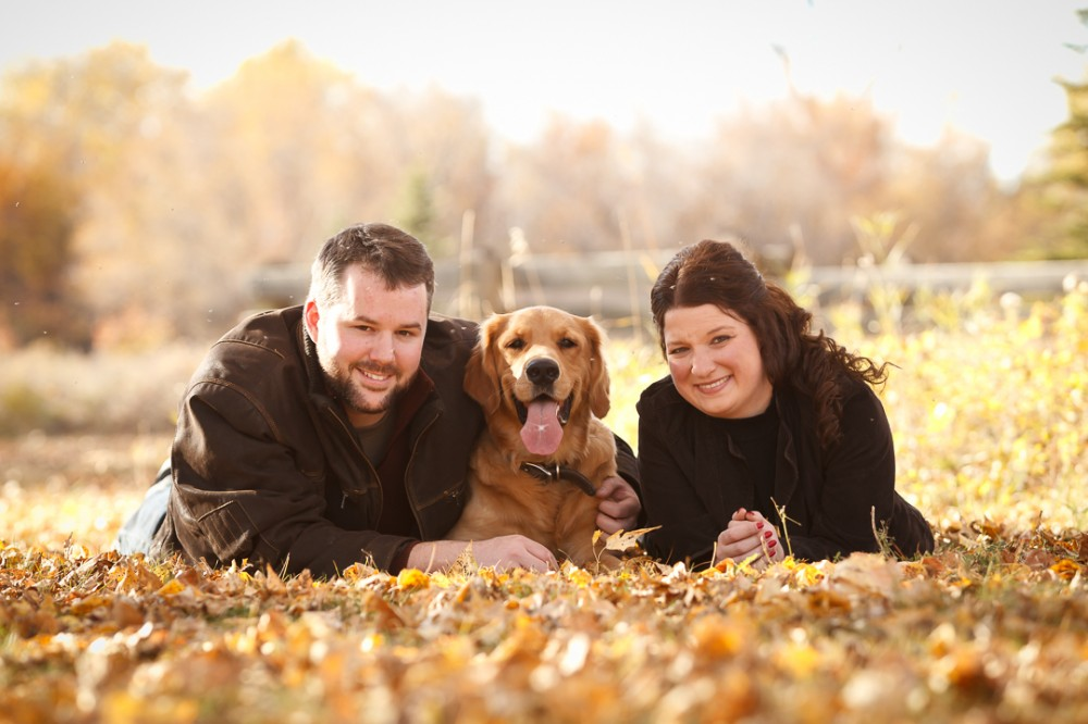 Fall Portrait Session with the Tompkins Family