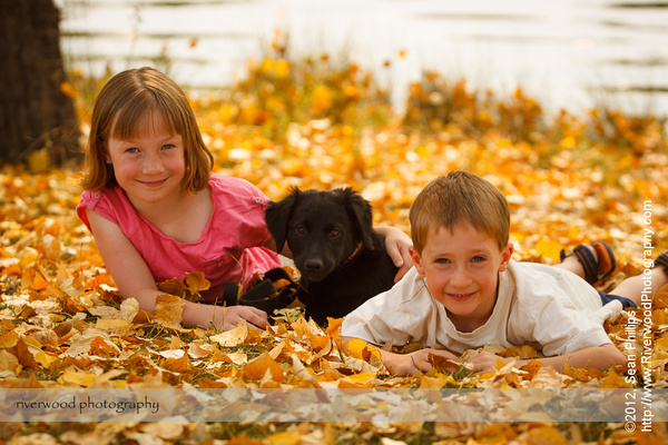 Fall Portraits at Carburn Park