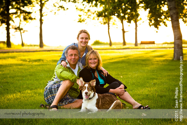 Family and Dog Photography at North Glenmore Park