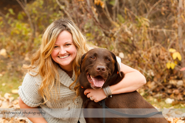 Fall Portraits at Edworthy Park