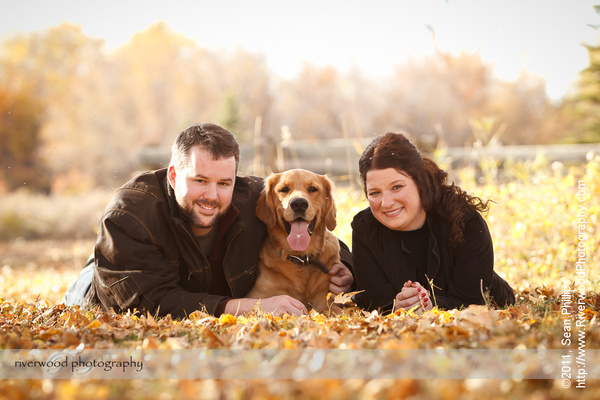 Fall Portraits with the Tompkins Family