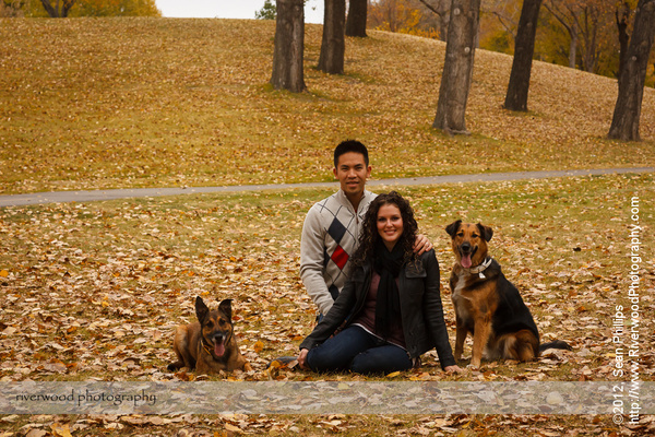 Fall Family and Pet Photography Session