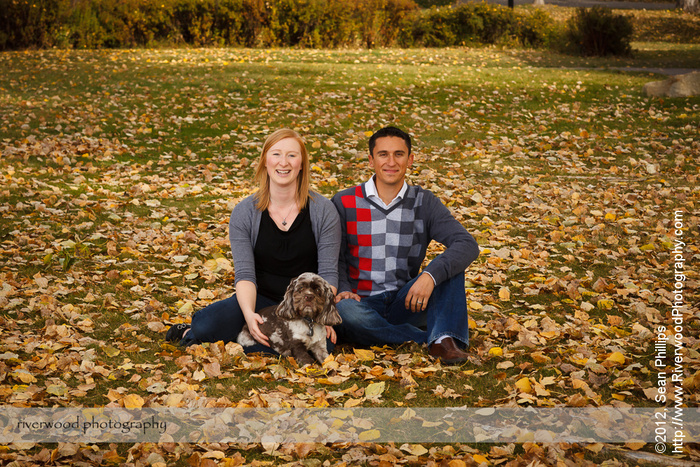 Family Pet Portraits at the Ranche in Fish Creek